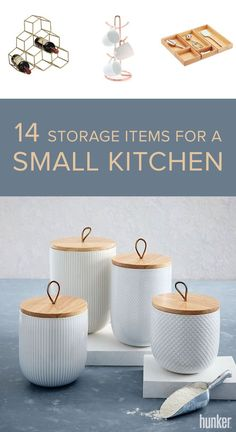 Running low on space in the kitchen? These 14 storage solutions are essential for saving space!
