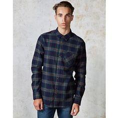 Bellfield - Petra Mens Navy Check shirt £29.99