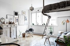 Clever small space style in Stockholm