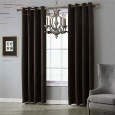 Modern blackout curtains for window treatment blinds finished drapes window blackout curtains for living room the bedroom blinds Glass Door Curtains, Window Drapes, Blue Curtains, Bedroom Blinds, Bedroom Doors, Grommet Curtains, Blackout Curtains, Panel Blinds, Home Decor Sale