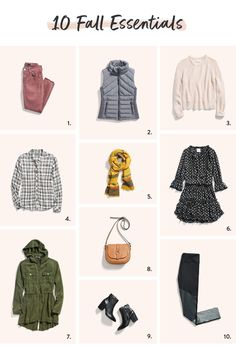 Fall Style Essentials