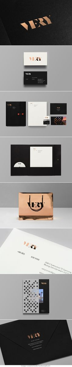 VERY / branding / logo / identity / layout / packaging