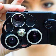 Three Lenses in One iPhone 4 Case