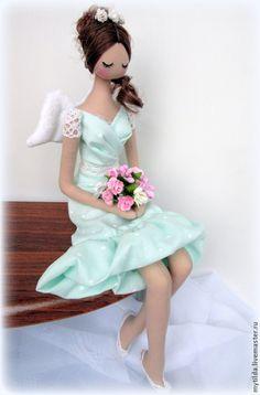 Купить Выпускница - бирюзовый, ангел, ангел-хранитель, ангелы, подарок выпускнику, подарок влюбленным