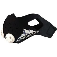 Elevation training mask. Used to simulate high altitude air to help train harder in less time.