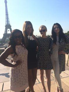 La Dame de fer de Paris rencontre les dames de fer de Litchfield...  #OITNBenFrance
