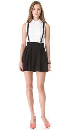 alice + olivia Dryden Suspender Dress  $367
