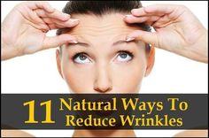 Ways to reduce wrinkles