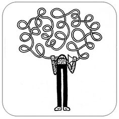 #Autoascolto - Self #Listening | #Omeini by Luigi Viscido, via Flickr | #art #italy #illustration