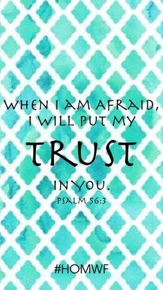 Art for the Heart // Psalm 56:3 — Heart of Mary Women's Fellowship