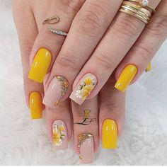 Cute Acrylic Nails, Toe Nail Art, Fall Nail Art Designs, Fire Nails, Short Nails Art, Sexy Nails, Square Nails, Stylish Nails, Creative Nails