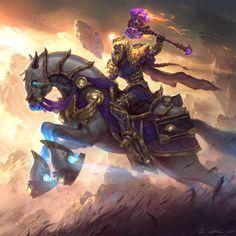 Paladin class mount, Legion wow.