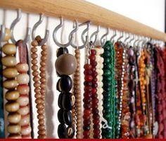Como guardar meus colares? | Arrumada