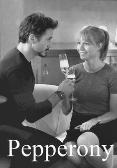 I literally think that the sole purpose for Iron Man was to have a cute OTP name like Pepperony...