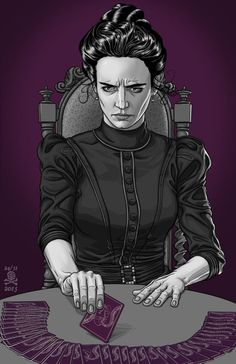 Penny Dreadful - Vanessa Ives (Eva Green) Art