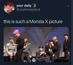 Check out Monsta X @ Iomoio Monsta X Wonho, Shownu, Jooheon, Hyungwon, Kihyun, Shinee, Steven Universe, Day6 Sungjin, Monsta X Funny