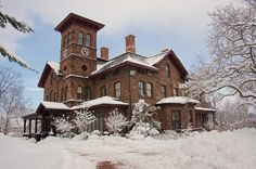 College Hall Douglass Campus - Rutgers University | Penny Carlson