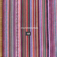 Bunte Streifen Stoff aztekische Stoff von ChaChaFabricMade auf Etsy
