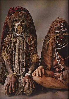 Chimu women in mourning