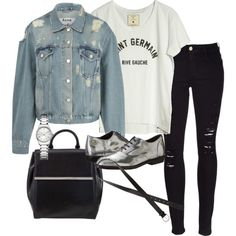 Untitled #928 by eleanorwearsthat on Polyvore featuring Loft Design By..., Acne Studios, Frame Denim, Diesel, MICHAEL Michael Kors, Calvin Klein, H&M and Inspired