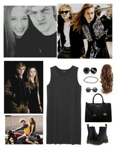 """Hanging Out With Evan Peters And Taissa Farmiga"" by mely-carrasco ❤ liked on Polyvore"