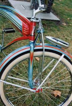 1939 Huffman Bicycle. Love the styling