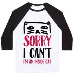 Show off your love of your adorably fluffy kitty with this funny and cute, lazy and introvert pride, inside cat shirt! Cuddle up and stay away from social obligations like a real cool cat! Check out our huge collection of cute cat designs; Free Shipping on U.S. orders over $50.00