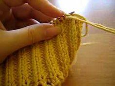 Elisabeth Zimmerman's sewn bind off - YouTube