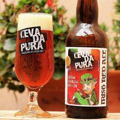 A cada gole você consegue sentir a brisa e ouvir os pássaros da Irlanda!  Esta Irish Red Ale é avermelhada e cristalina. Seu aroma possui notas tostadas e caramelizadas bem como nuances herbais. Sensacional!