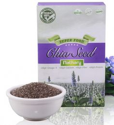 Chia Seeds (เมล็ดเชีย) เมล็ดเจียเกรด Premium