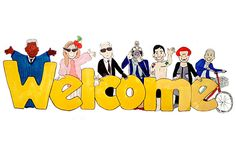 Welcome Are Cartoons Image #Allquotes #Welcome! #welcome #Quotes #Cards # #WelcomeImage #YouAreWelcome Welcome