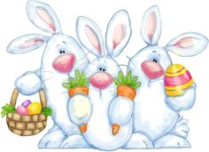 Shelly Comiskey — Easter Bunnies (800x582)