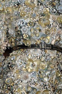 Details of Aquilano Rimondi dress.