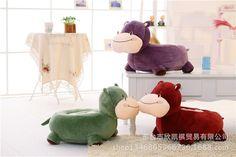 59.95$  Buy here - http://alims7.worldwells.pw/go.php?t=32592477662 - lovely cartoon hippo 60x45cm sofa tatami plush toy sofa floor seat cushion birthday gift w5476