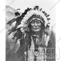 Lakota Sioux Indian, Iron Shell, 1908