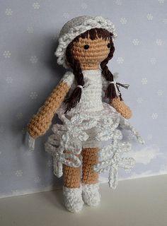 snowflake #amigurumi #doll