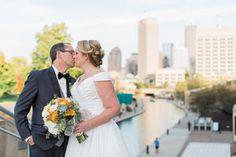Erika + Keith   Wedding Ceremony & Reception. Photos by Gabrielle Cheikh Photography. #IndianaStateMuseum