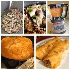 Thrive Life- Thrivin' with Kelli: Chicken Enchiladas by Chef Todd Leonard!! Amazing...
