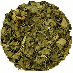 Peppermint leaf tea soothes indigestion, nausea and gas, and also energizes.  To make the tea, use 1 teaspoon of the mint leaves per 8 oz of boiled water and steep for a few minutes.