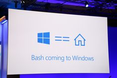 The Most Amazing Combination Ever In Computer Tech: Microsoft Bash Linux Command Prompt Coming To Windows 10 - http://viralfeels.com/the-most-amazing-combination-ever-in-computer-tech-microsoft-bash-linux-command-prompt-coming-to-windows-10/