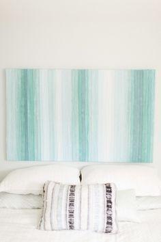 DIY Linen Art: http://www.stylemepretty.com/living/2015/07/14/the-prettiest-art-to-dress-up-your-walls/