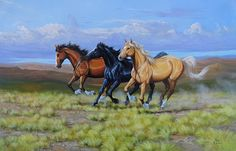 Cavalli al galoppo 4