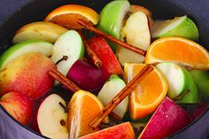 You'll love how this Homemade Apple Cider recipe mulling on the stove fills your house with the comforting aroma of apple, orange, cinnamon and cloves.