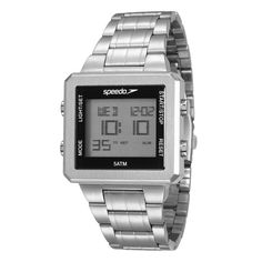 5307a3ae24d Relógio Masculino Digital Speedo 24845G0EVNA1 – Cromado - Digital no…