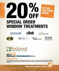 the litavrinsad blinds and com coupon homedepot home february codes about depot promo coupons
