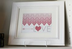This #free #VDay #printable, looks great in a white mat & white frame. Wanna #DIY? We've got 16 shades of white matting... and dozens of white frames to choose from. Get started here: http://www.pictureframes.com/frameindex/Colors_White_Picture-Frames.html