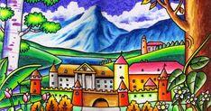 Gambar Lukisan Pemandangan Alam Dengan Crayon Gambar Lukisan Pemandangan Alam Dengan Crayon Gambar Terunik Di Dunia