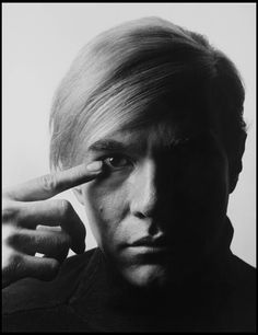 Andy Warhol by Philippe Halsman #men #photography #phototriennale