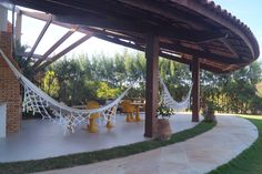There are never too much hammocks.  Of course our employees are available at Villa Cacau as well. Gardeners will be there to watch after the plants and the pool and if you want you can book a private chef to your holiday home!