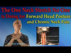The One Neck Stretch No One is Doing for Forward Head Posture & Neck Pain - Dr Mandell - YouTube